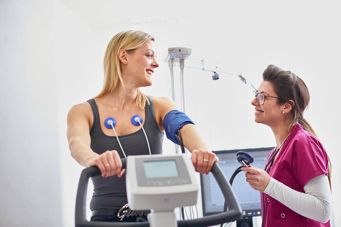 Hausarzt Bad Fallingbostel - Lungenspezialist - Beermann - Belastungs-EKG