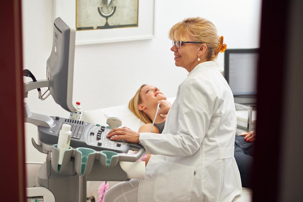 Hausarzt Bad Fallingbostel - Lungenspezialist - Beermann - Startseite - Ultraschalluntersuchung2