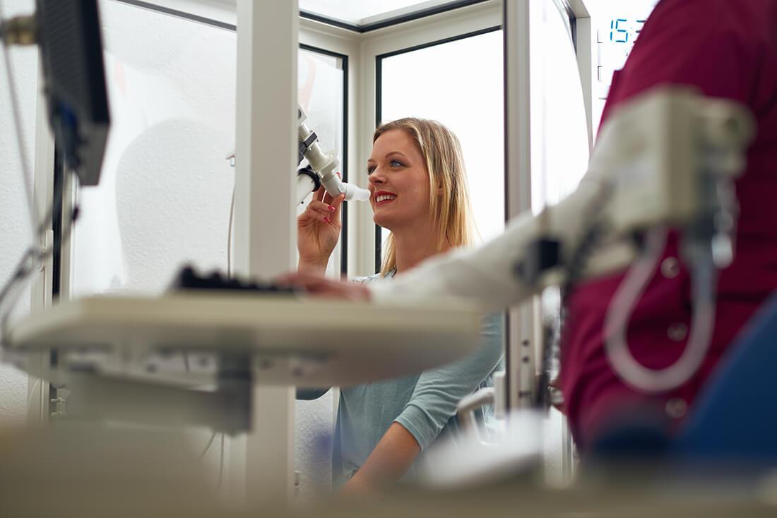 Hausarzt Bad Fallingbostel - Lungenspezialist - Beermann - Praxis - Lungenfunktionstest