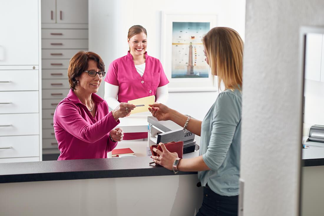Hausarzt Bad Fallingbostel - Lungenspezialist - Beermann - Praxis - Empfang